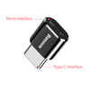 Baseus Type C Male to USB Female OTG Adapter Mini Usb c OTG Charger Plug Adapter Converter for USB Female to Type-C Male