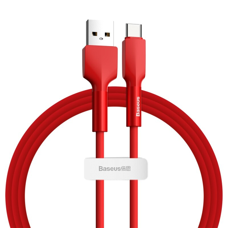 Baseus USB Type C Cable Liquid Silicone Quick Charge 3.0 Cable for Samsung S20 S10 Redmi Note 8 9 Quick Charging USB C Cable
