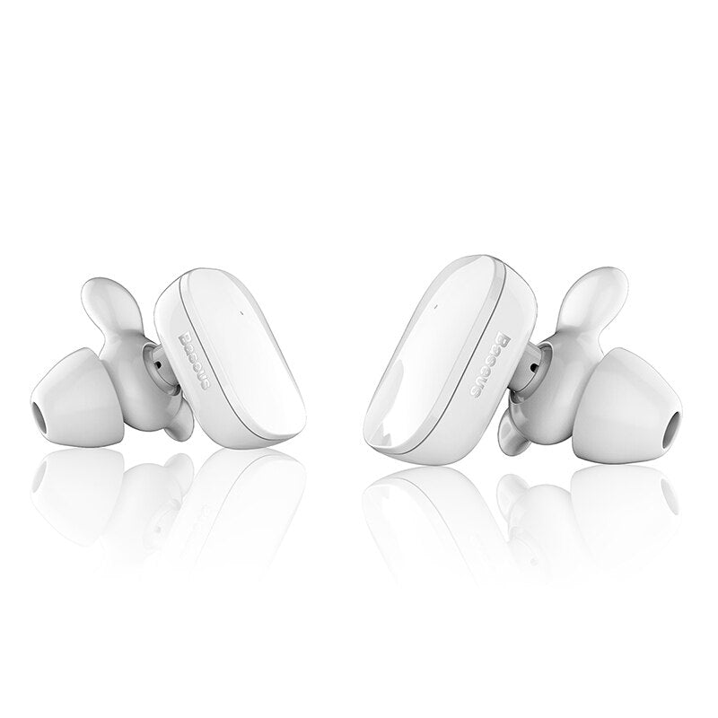 Baseus W02 TWS Bluetooth Earphone Wireless earbuds with microphone intelligent touch control hands-free Auriculares for phone