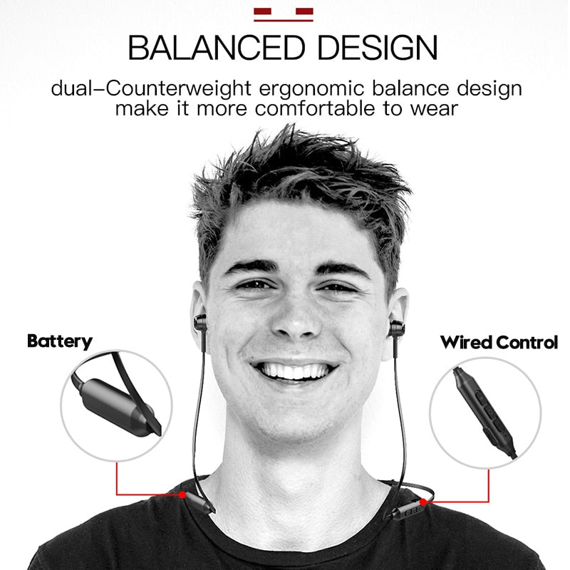 Baseus Wireless Bluetooth Earphones S06 Sports Neckband Magnetic Wireless Headphone With Mic For All Phones