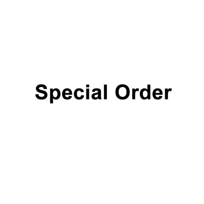 Special Order(Need to contact Service Center)
