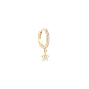 By Charlotte 14k Gold Dance Under the Stars Hoops