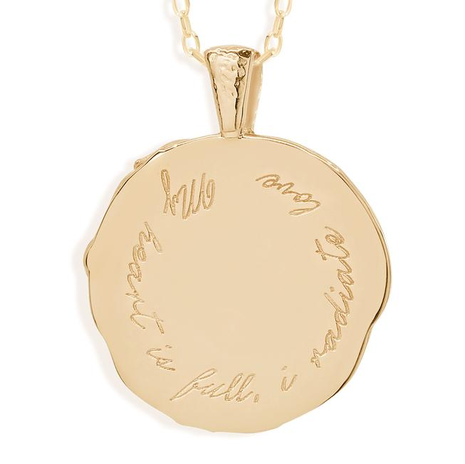 By Charlotte Cancer Zodiac Necklace