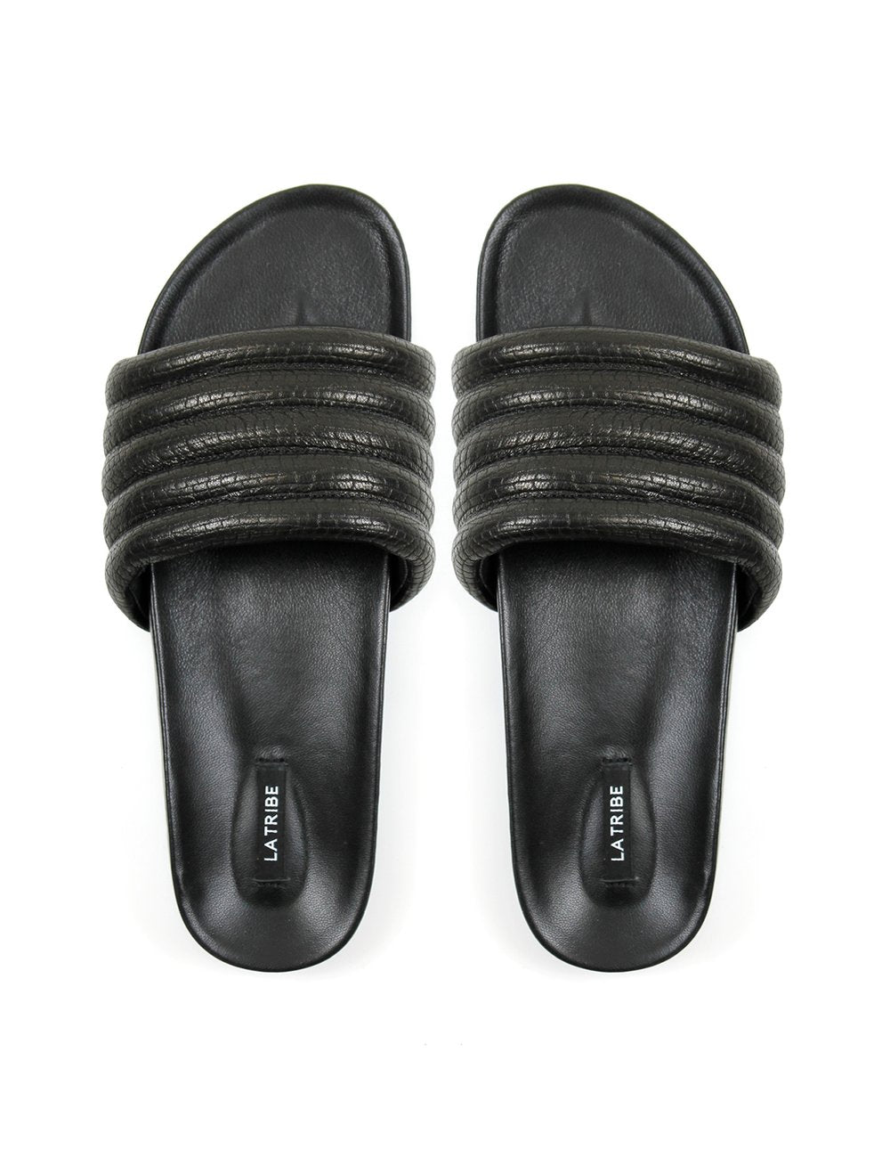 La Tribe Pool Slides Snake Black