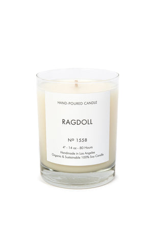 Ragdoll HAND-POURED CANDLE No 1558