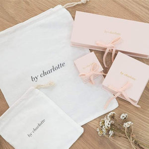 By Charlotte 14K Gold Love Letter Earring