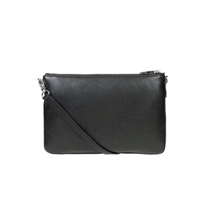 Dylan Kain The Margot Bag in Black with Silver-DYLAN KAIN-NikandShe