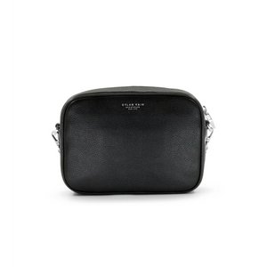 Dylan Kain The Mini Rodriguez Bag in Black with Silver-DYLAN KAIN-NikandShe