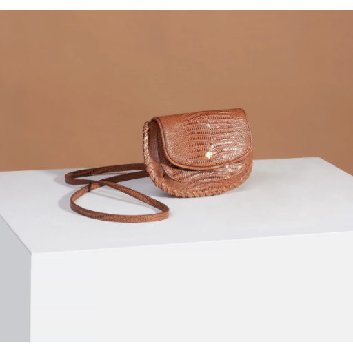Sancia The Bridgette Belt Bag in Antique Lizard-SANCIA-NikandShe