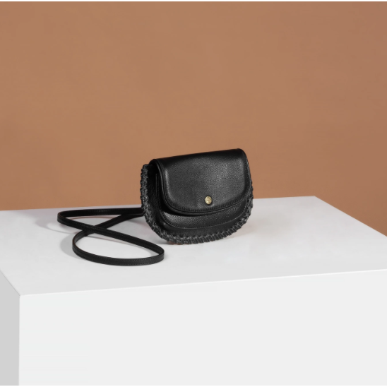 Sancia The Bridgette Belt Bag in Black-SANCIA-NikandShe