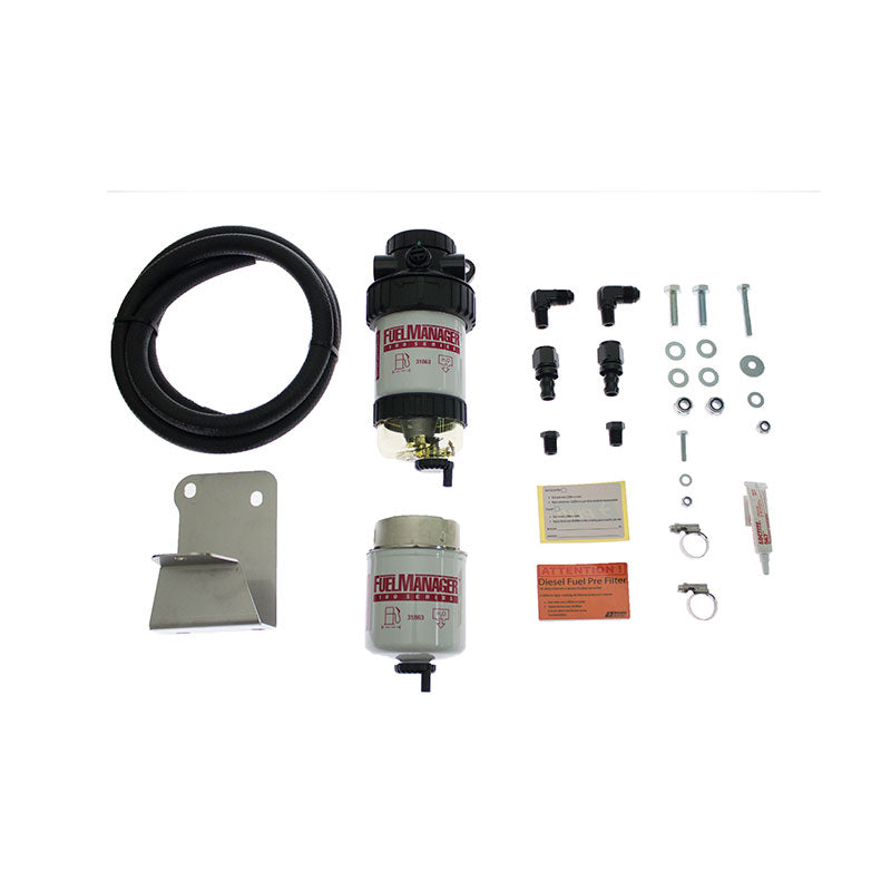Direction Plus Fuel Manager Pre Filter Kit Suit Toyota Landcruiser 70 Series 1VD-FTV 2012-17