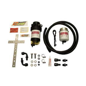 Direction Plus Fuel Manager Pre Filter 30 Micron Universal Kit and Bracket