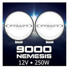 Load image into Gallery viewer, FYRLYT NEMESIS 9000 250w Driving Light 12 or 24 volt