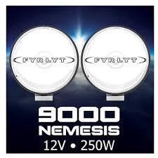 FYRLYT NEMESIS 9000 250w Driving Light 12 or 24 volt