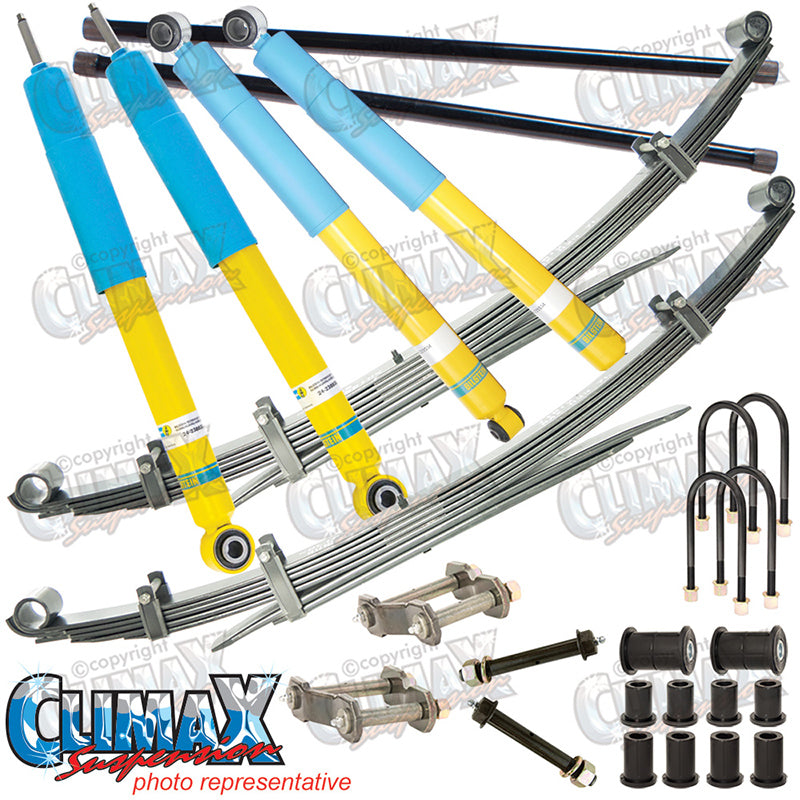 TRITON MK 1996-2006 FRONT HEAVY DUTY & REAR MEDIUM DUTY BILSTEIN LIFT KIT