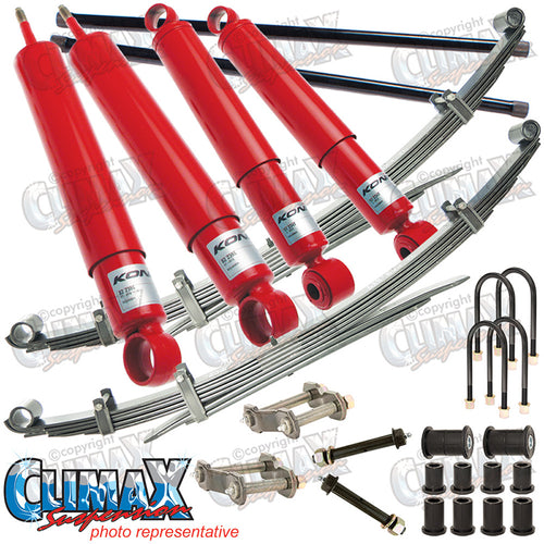 BRAVO/COURIER 1987-2006 FRONT HEAVY DUTY & REAR MEDIUM DUTY KONI LIFT KIT