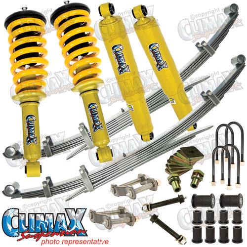 RANGER/BT50 2011 ON FRONT EXTRA HEAVY DUTY & REAR HEAVY DUTY CLIMAX LIFT KIT