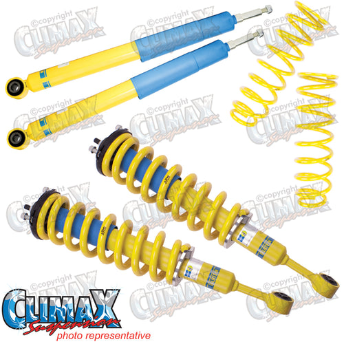 EVEREST FRONT HEAVY DUTY & REAR HEAVY DUTY BILSTEIN LIFT KIT