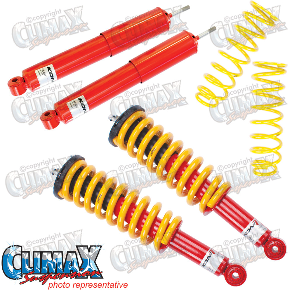 PAJERO NM-NX LWB DIESEL FRONT EXTRA HEAVY DUTY & REAR EXTRA HD KONI LIFT KIT