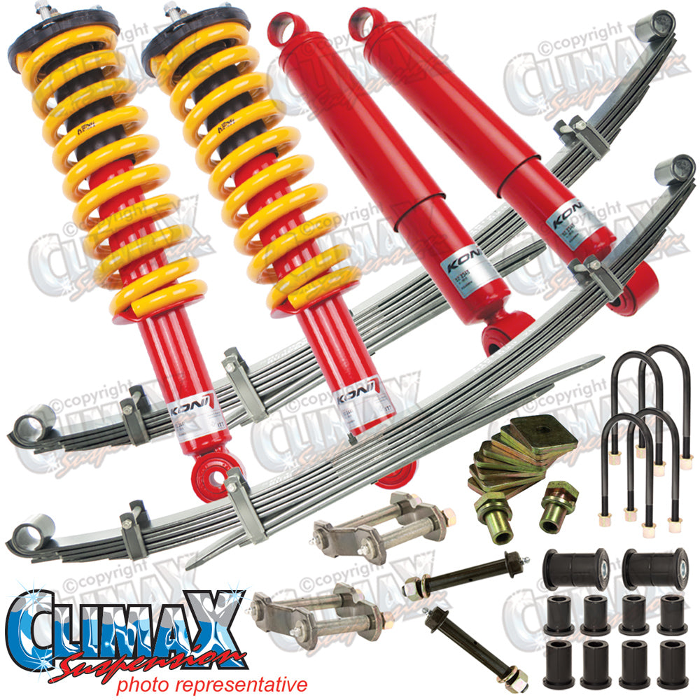 RANGER/BT50 2011 ON FRONT EXTRA HEAVY DUTY & REAR HEAVY DUTY KONI LIFT KIT
