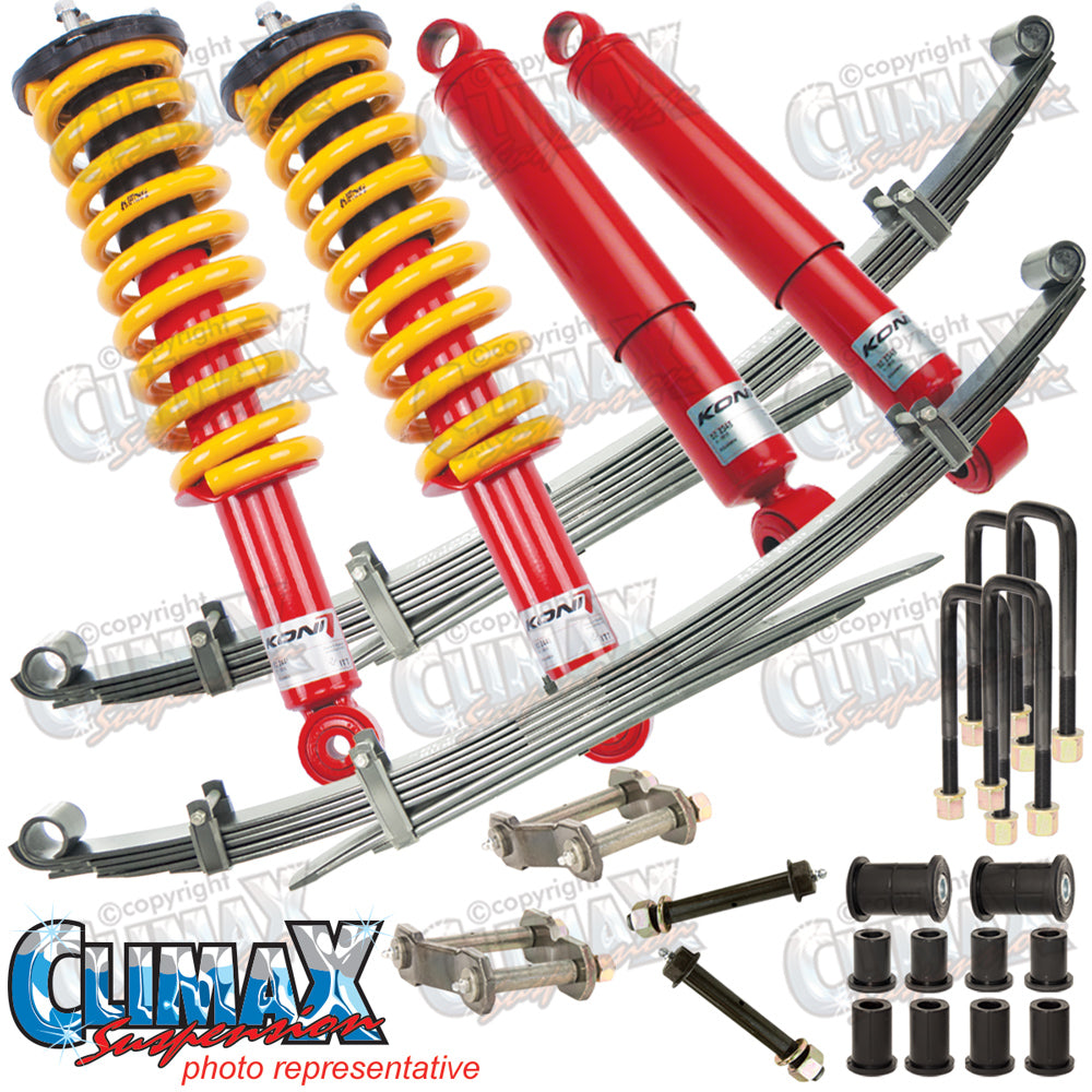 HILUX 2005-2015 KUN26R FRONT HEAVY DUTY & REAR EXTRA HEAVY DUTY KONI LIFT KIT