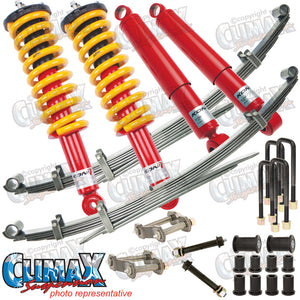COLORADO/D-MAX 2011 ON FRONT EXTRA HEAVY DUTY & REAR EXTRA HEAVY DUTY KONI LIFT KIT