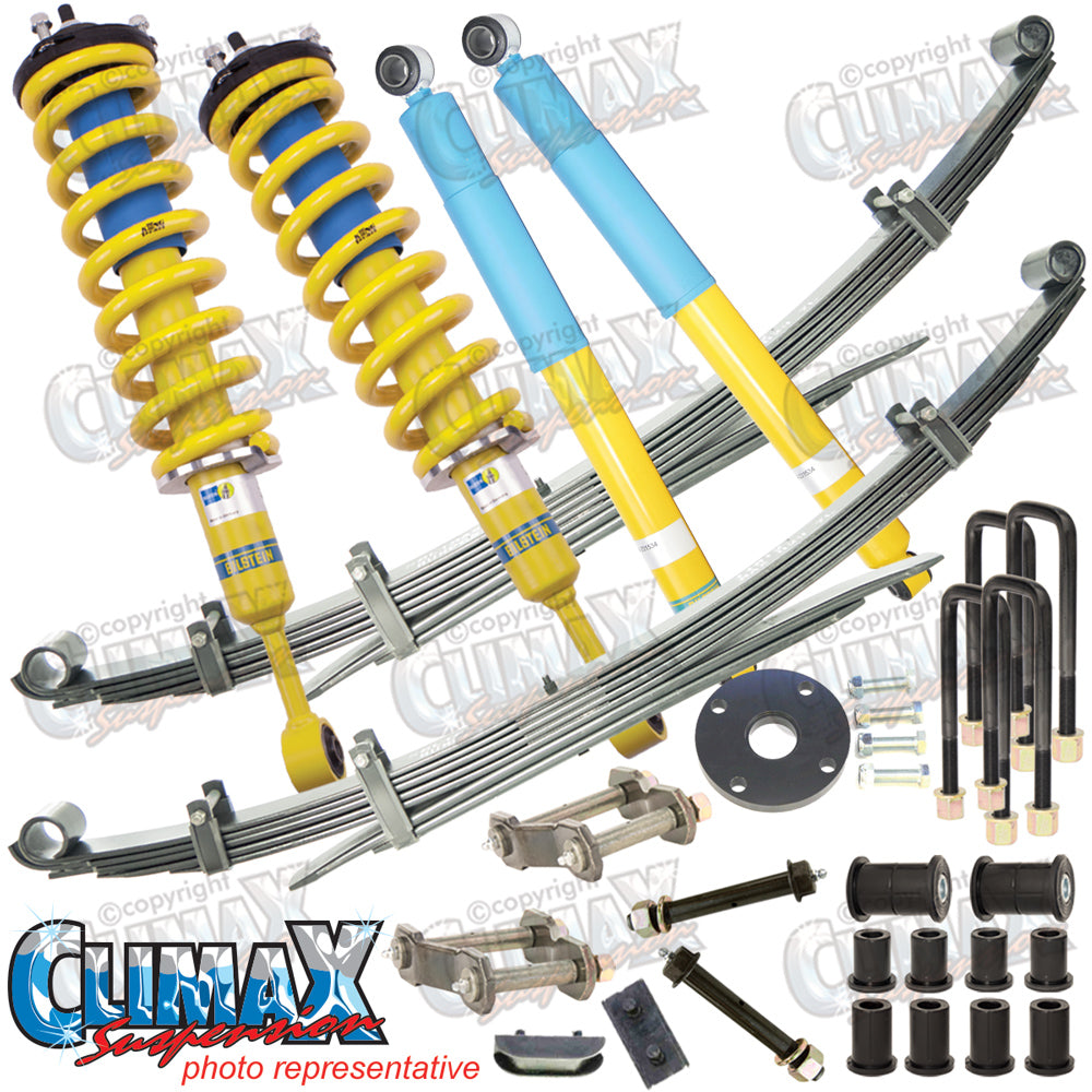 TRITON MQ 2015 ON FRONT MEDIUM DUTY & REAR MEDIUM DUTY BILSTEIN LIFT KIT