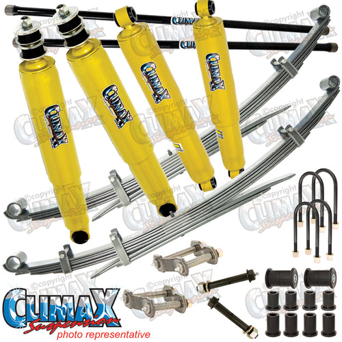 RANGER/BT50 2006-2011 FRONT HEAVY DUTY & REAR EXTRA HEAVY DUTY CLIMAX LIFT KIT