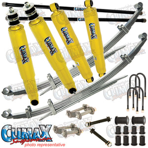 BRAVO/COURIER 1987-2006 FRONT HEAVY DUTY & REAR MEDIUM DUTY CLIMAX LIFT KIT