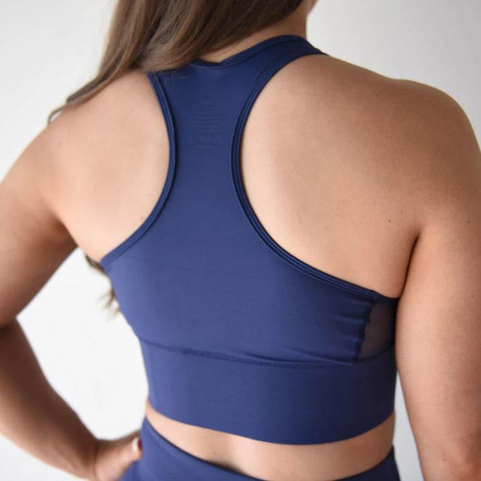 Midnight Blue - Sports Bra