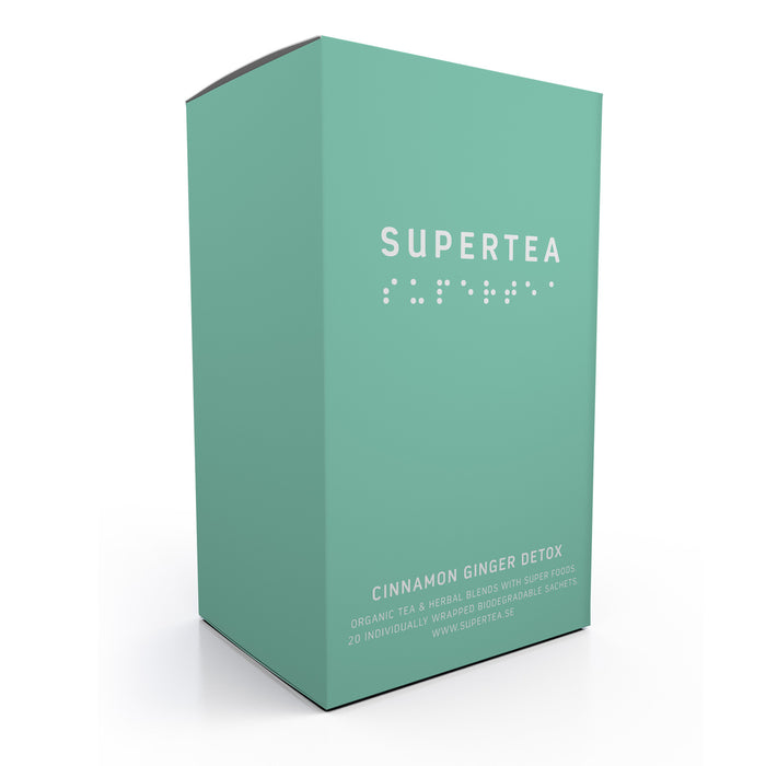 Supertea Cinnamon Ginger Detox