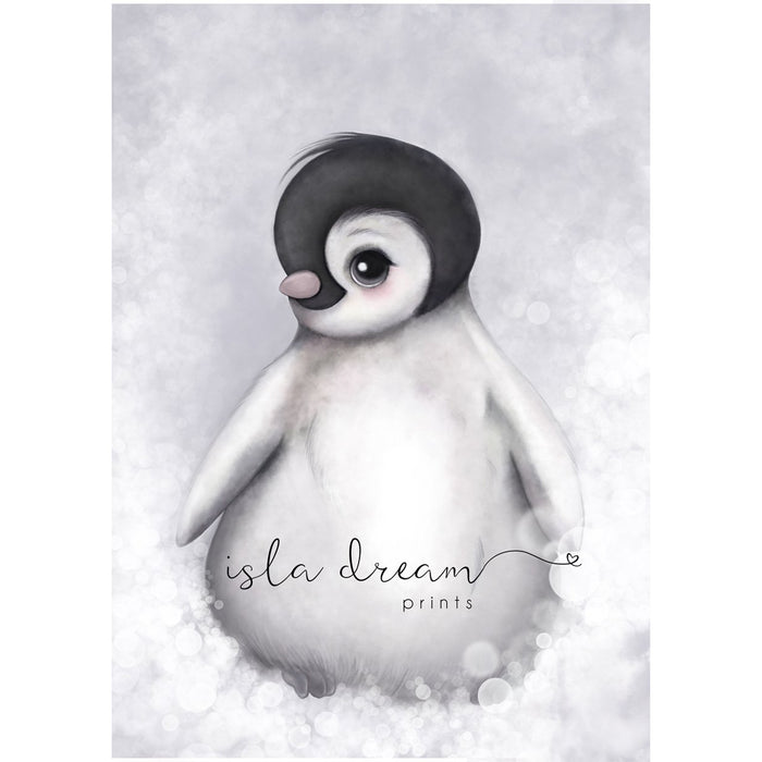 Romeo The Baby Penguin - Print