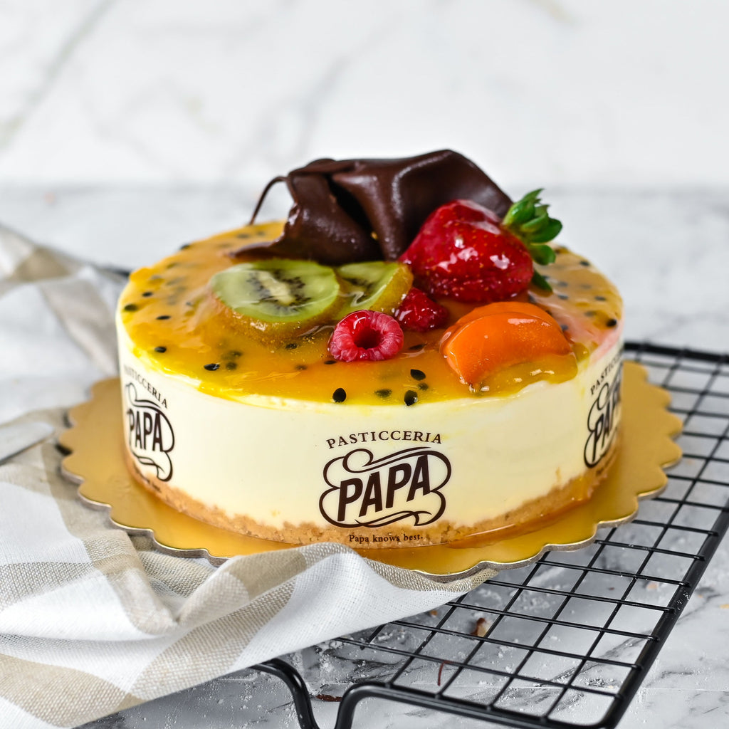 Passionfruit Cheesecake - Bianco Pantry