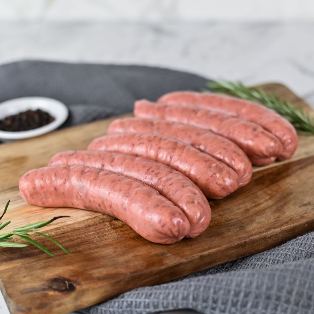 Country Style Beef Sausages - Bianco Pantry