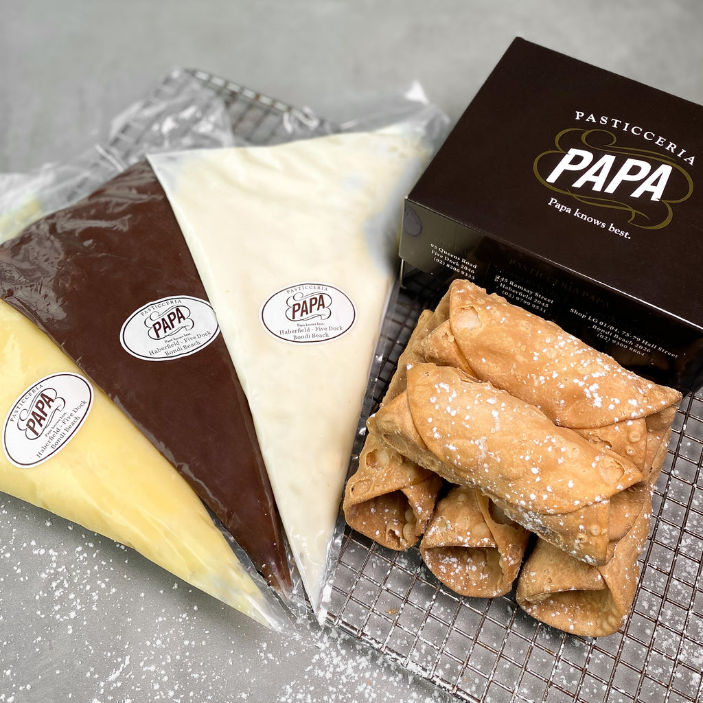 Papa's Traditional Cannoli - Bianco Pantry