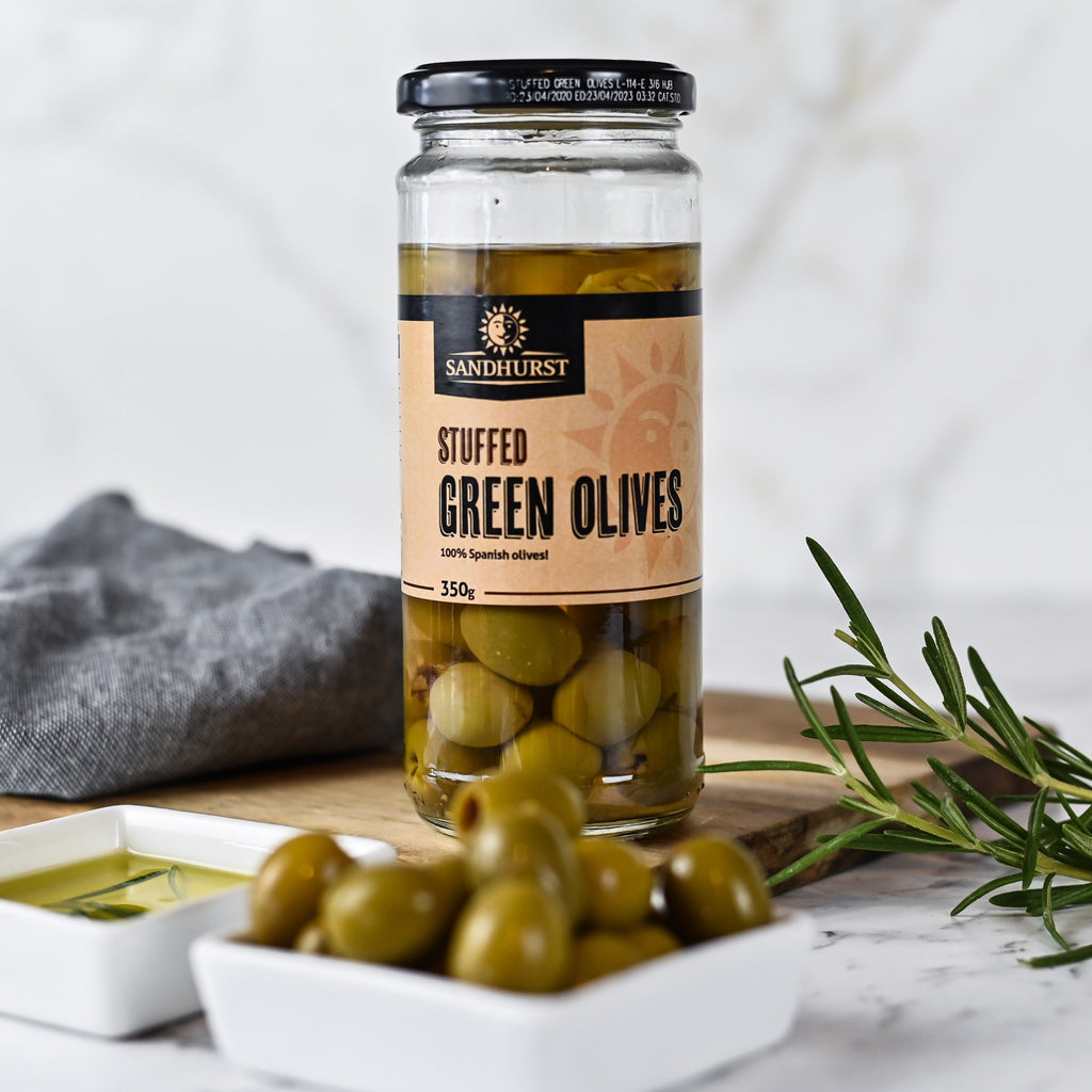 Stuffed Green Olives - Bianco Pantry