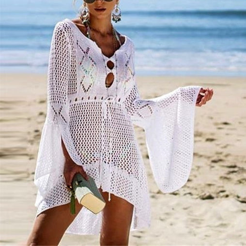 Crochet Knitted Cover Up