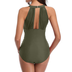 One Piece Sexy Mesh Swimsuit