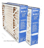 Reservepro Merv 10 20x25x5 Two Pack furnace filters