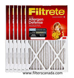 16x25x1 Filtrete MPR1000 Pleated Filters - 6 pack $83.99 plus shipping