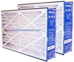 Merv 10 Reservepro 16x25x5 Two Pack furnace filters