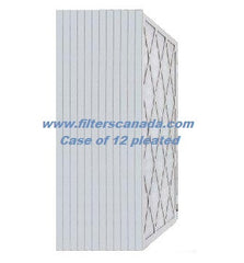 "1"" Pleated Merv 11 Allergy Custom Size - Case of 12"