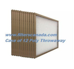 "1""  Custom Size  Poly/Fiberglass Throwaway - Case of 12"