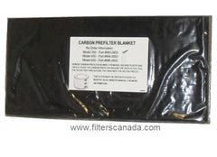 Five Seasons HEPA350 Carbon Prefilter Blanket W3-0855