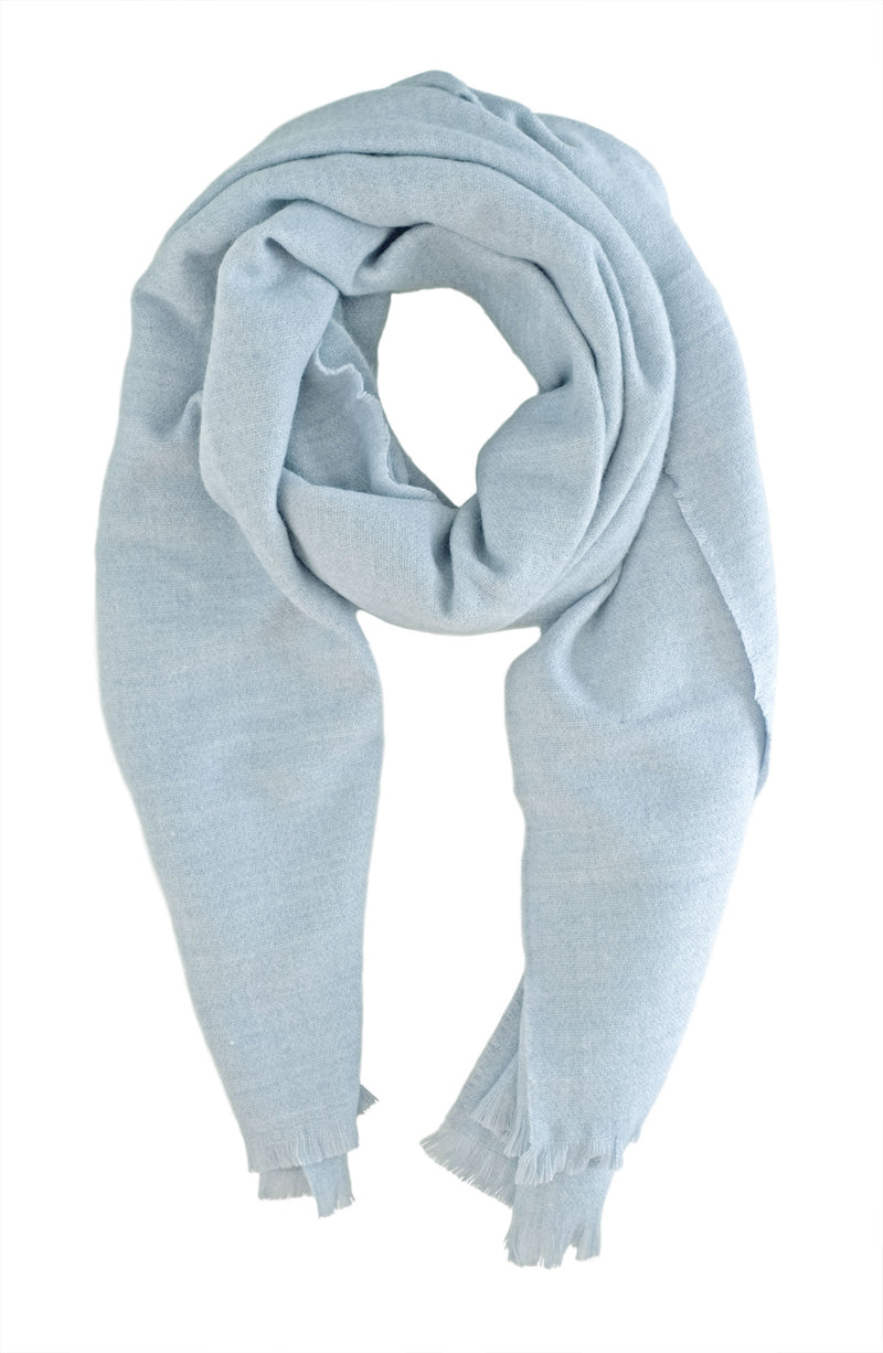 Soft Baby Blue Scarf