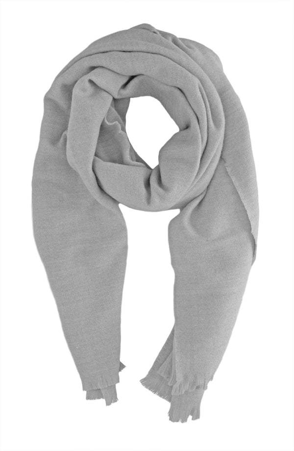 Soft Light Grey Scarf
