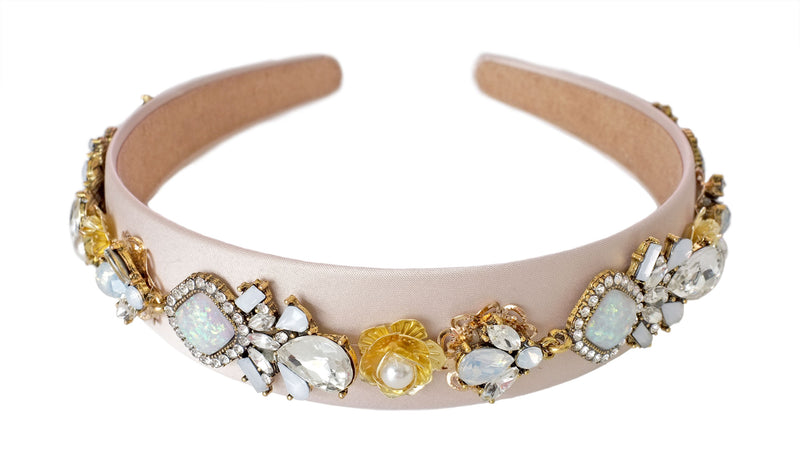 Blush Jewelled Headband