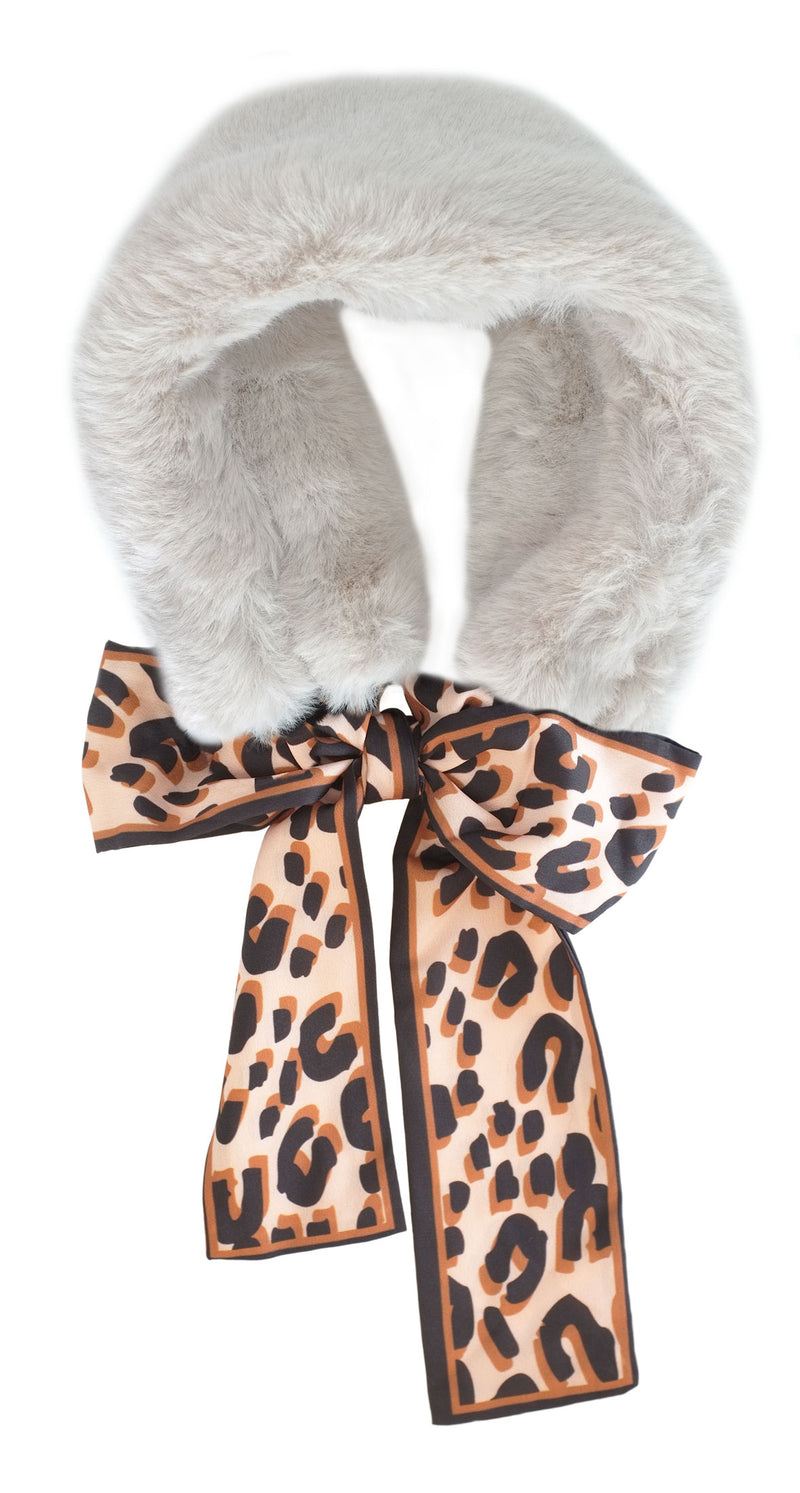 Fawn Faux Fur Neck Warner
