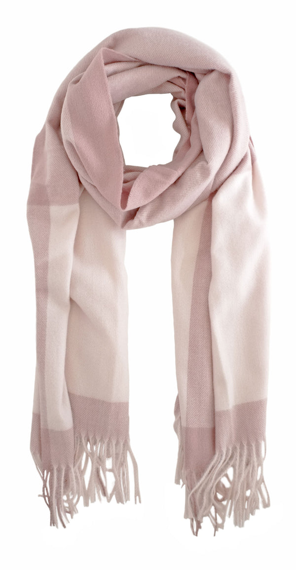 Cashmere Feel Blush Scarf