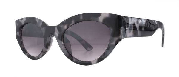 Cloudy Leopard Cat Eye Sunglasses
